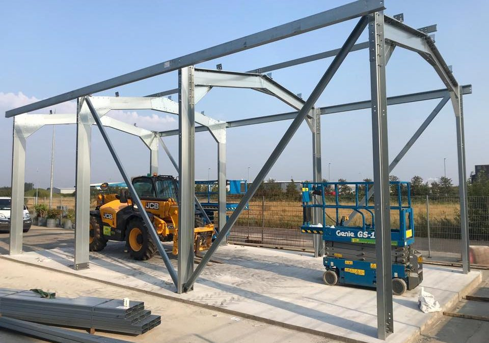 Why is steel used in construction?