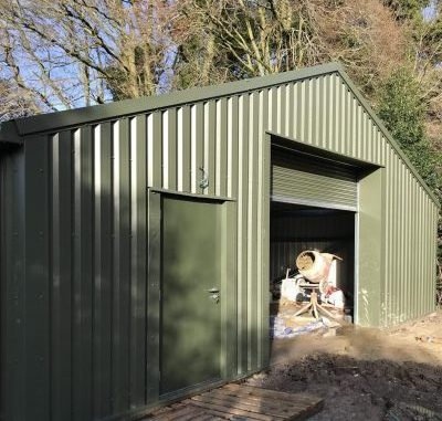 Tidworth Garrison Golf Club – New Steel Building