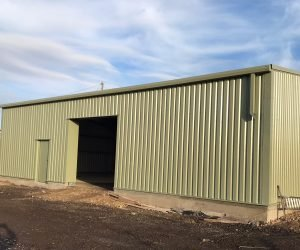New Steel Frame Workshop & Store