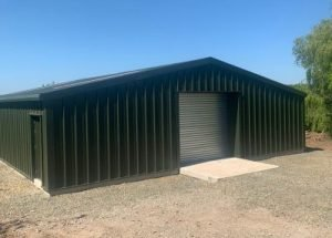 Mr C Read – Fully Insulated Steel Building